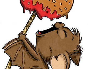 Marvin with Candy Apple (DIGI STAMP)