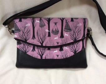 Crossbody Bag in Cotton + Steel Speelbound
