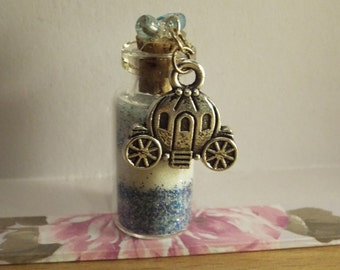 Cinderella's Bottle: Glass Bottle Charm