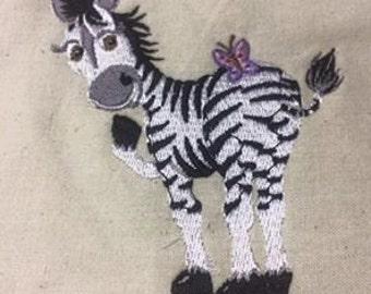 Embarassed Zebra