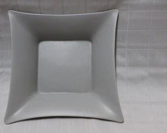 Grey Cuboidal Tray/ Platter Dish