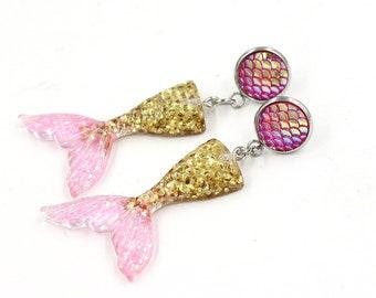 Mermaid Fin earrings