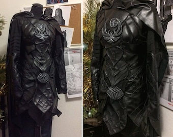 Nightingale armor from Skyrim eco leather cosplay costume