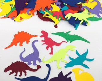 Dinosaur Confetti - t-rex, pterodactyl, triceratops, & more!