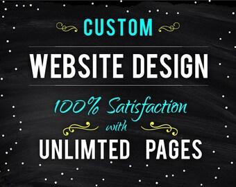 Website Design, Custom website, wordpress theme, wordpress blog theme, photography website, wedding website, wordpress website, wix website
