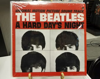 1980'S BEATLES ALBUMS - A Hard Day's Night - Near Mint Condition