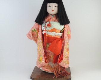 H44cm(17in), Japanese Ichimatsu Doll