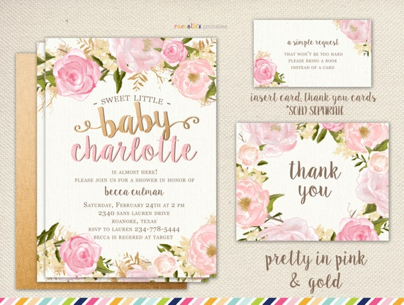 Flower baby shower invitations images baby shower invitations ideas floral baby shower invitation burgundy and pink watercolor filmwisefo