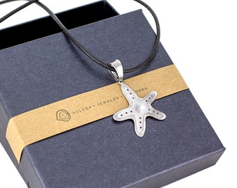 Pendant STARFISH made of Sterling Silver 925