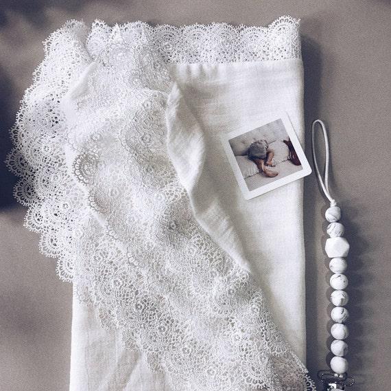 Vintage Lace Swaddle