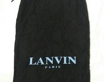 Lanvin shoes dust bag