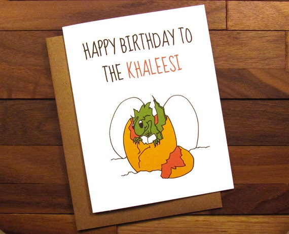 Funny Birthday Card Game Of Thrones Birthday Card With