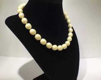 Pearl Necklace - Short Pearl Necklace - Faux Pearl Necklace - Large Pearl Necklace - Pearl Necklace for Wedding - Pearl Necklace for Bride