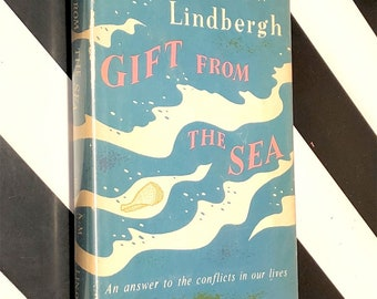 Gift from the Sea by Anne Morrow Lindbergh (1955) hardcover book