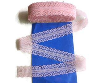 Salmon pink lace Ribbon
