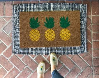 Custom Initials Doormat Personalized Doormat Custom Name