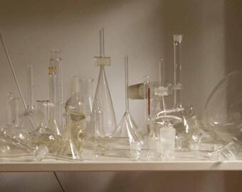 Vintage Laboratory Chemistry Lab Glassware