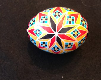 Chicken egg Pysanky