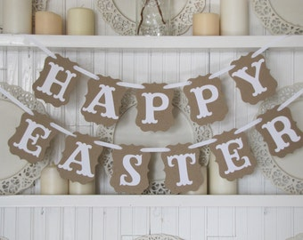 Spring And Easter Fabric Banner Spring Pennat Banner Easter