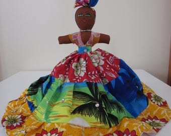 Reversible Carribean Doll