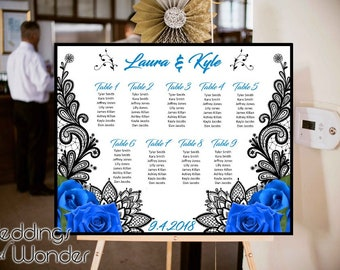 Lovely Lace - Seating Chart