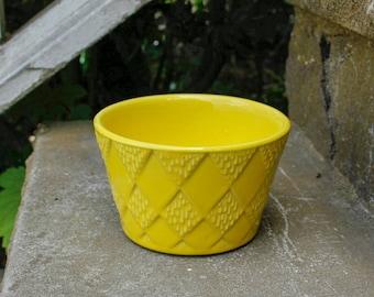 McCoy Planter - McCoy Floraline Yellow Planter - Vintage McCoy