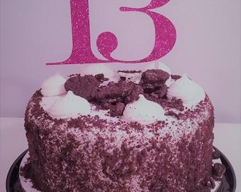 13 Cake Topper