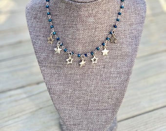 Star Dangle Necklace
