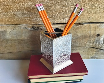 International Silver Co. pencil holder. Silver pencil holder.