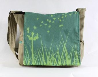 Dandelion Messenger Bag - Original Fabric Design