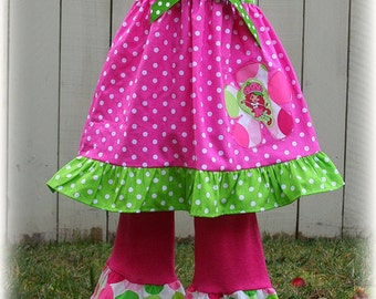 Strawberry Shortcake Girl Outfit, Strawberry Shortcake Costume, Strawberry Shortcake Girl Clothes, Strawberry Shortcake Birthday Party