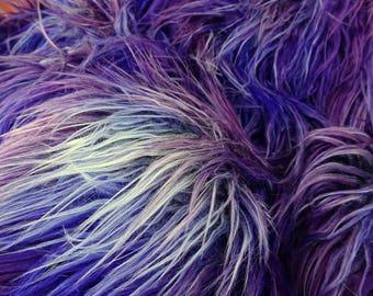 SMASHED BERRY - Stunning Multi Tonal Faux Fur - Full METRE (140x100)