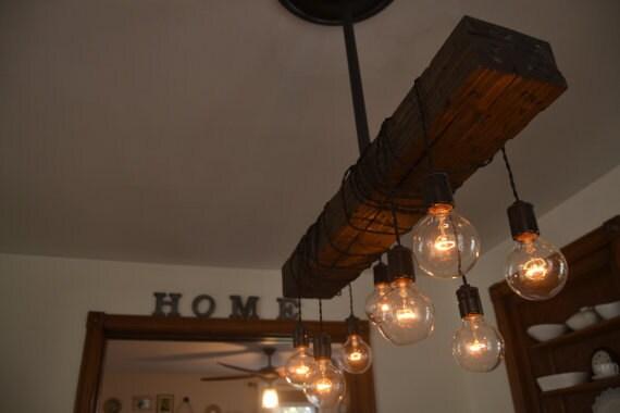 Farm house light pendant lighting wood light kitchen farm house light pendant lighting wood light kitchen light industrial chic chandelier wood fixture light aloadofball Gallery