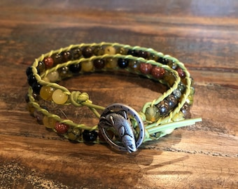 Brown Trout Lucky Fishing Bracelet
