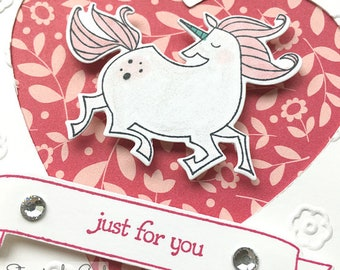 Handmade Greeting Card - Stampin' Up Magical Day Fairy Tale