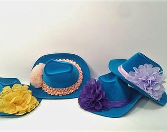 Dolly Cowboy Hats for the American Girl Doll