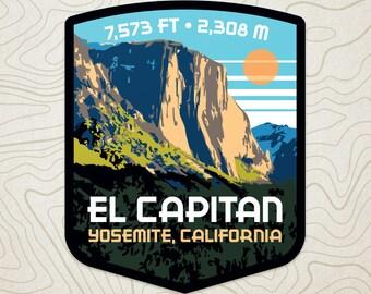 El Capitan Decal Sticker