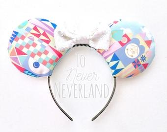Small World Ears, Its a Small World Mickey Ears, Small World Inspired Ears, Mickey Ears, Minnie Ears, Disney Inspired Ears, Mickey Mouse Ear