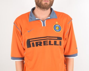 Inter Milano 90s Nike Jersey Size L (1452)