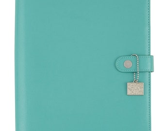 IN STOCK-  Carpe Diem Aqua Blue A5 Planner Binder Cover Only - Simple Stories