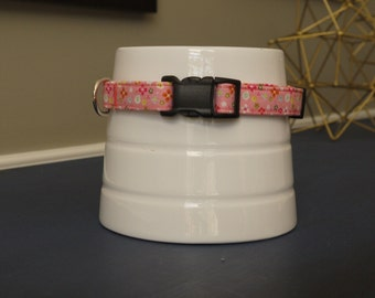 Light Pink Floral Collar