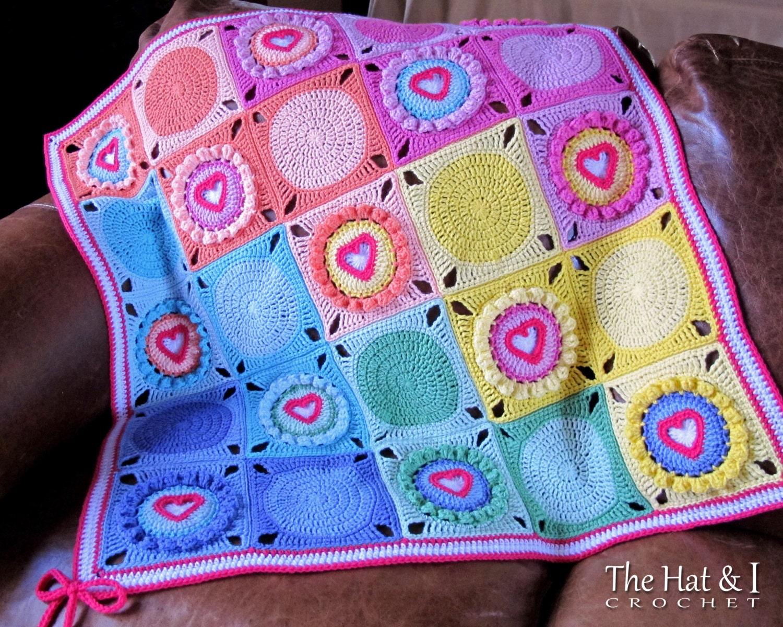 Crochet pattern follow your heart a crochet heart afghan zoom dt1010fo