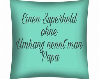 Printed cushion... A super hero without Cape...