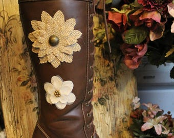 Women's High Steppin' Victorian Boot - Size 7
