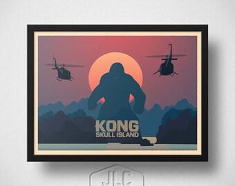 King Kong - Skull Island Movie Poster