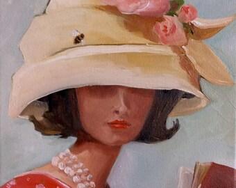 The Beehive Hat - Fine Art Print