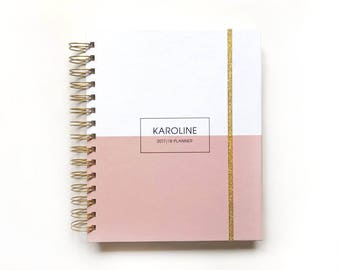 2018 2019 planner personalized planner custom 2018 2019 weekly planner 2018 2019 daily planner 2018 2019 academic planner wedding planner