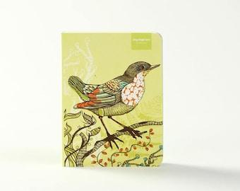 Bird and Flower | Green