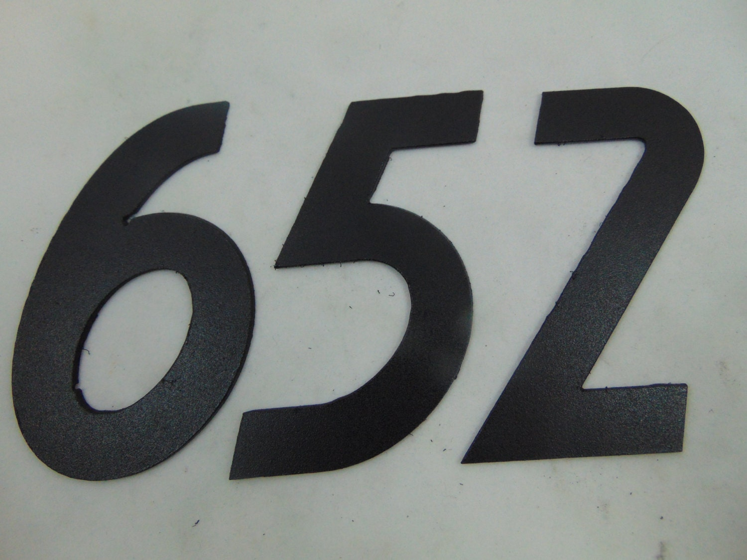 metal address number cutouts for your home or apartment. Black Bedroom Furniture Sets. Home Design Ideas