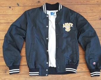 Champion Varsity Bomber jacket, Army, Mens L